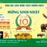 Lễ Kỷ Niệm 10 Năm Thành Lập Khu Du Lịch Sinh Thái Vườn Xoài